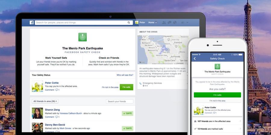 Rassurer ses proches sur facebook, rompre par sms, Silicon Douai… L'actu biz du week-end 14 & 15 novembre
