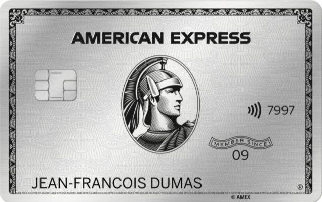 Carte bancaire: American Express lance sa nouvelle carte Platinium