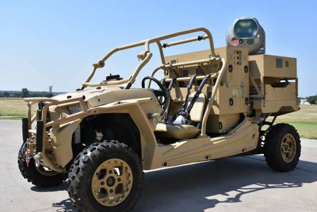 Etats Unis: l'armée développe une arme laser pour détruire les drones